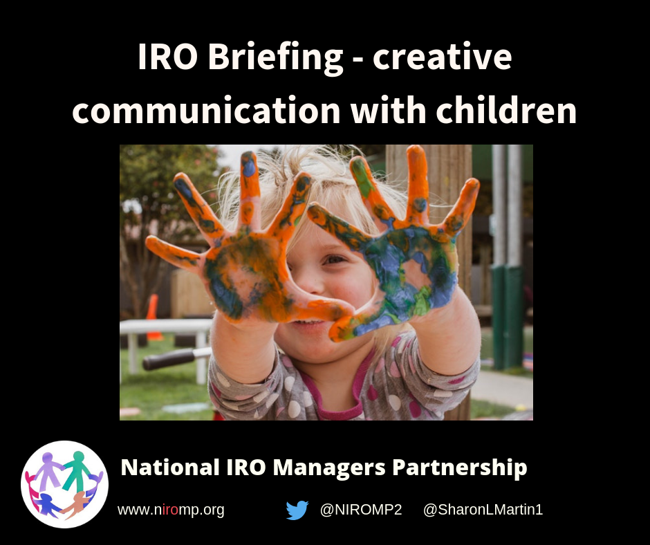 When Trauma Underlies Challenging >> Iro Briefing Creative Communication And Trauma Informed Practice